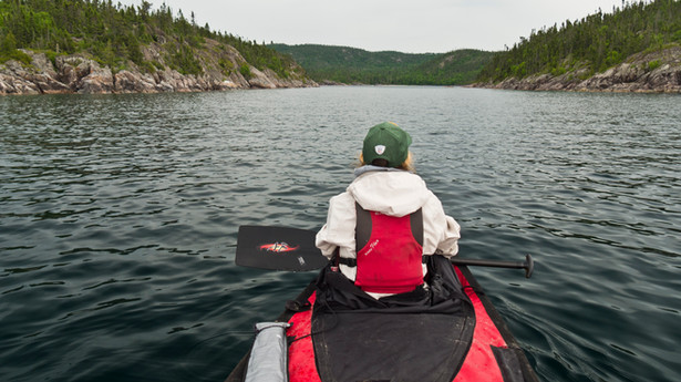 Lake Superior Coastal Canoe: Day 3 & 4 - Windbound
