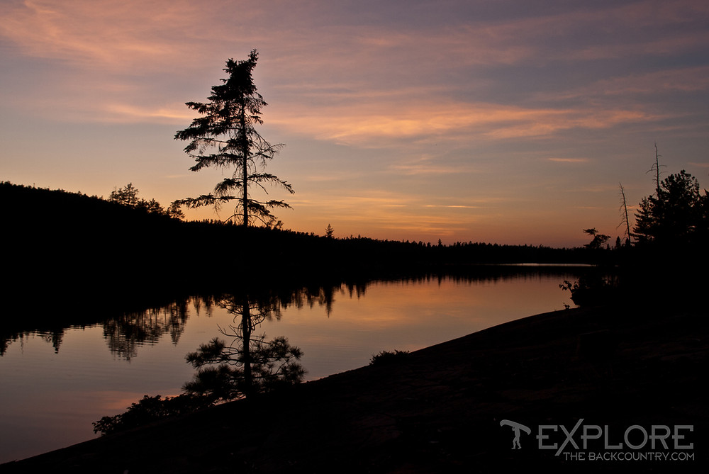 Evening Canvas: Temagami