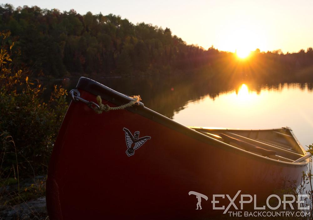 Fall Sunset: Algonquin