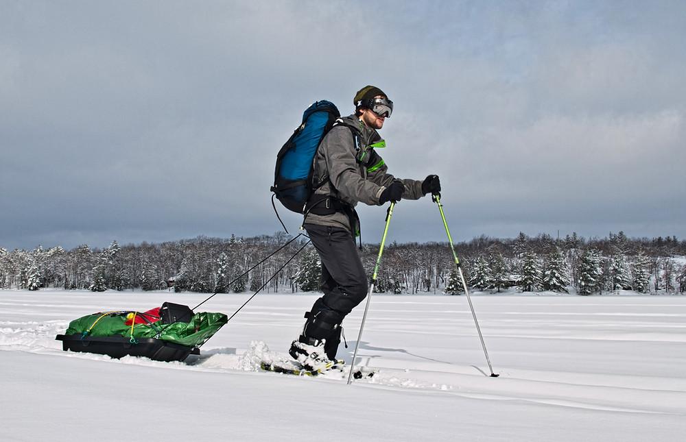 Winter Trekking: Kawartha Highlands Signature Site