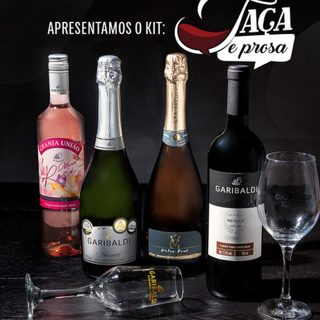 Cooperativa Vinícola Garibaldi apresenta o projeto 'Taça&Prosa'. Veja como participar