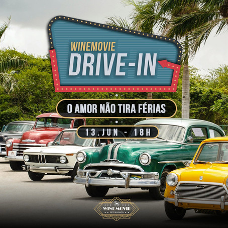 Wine Movie da Vinícola Peterlongo agora é Drive-in