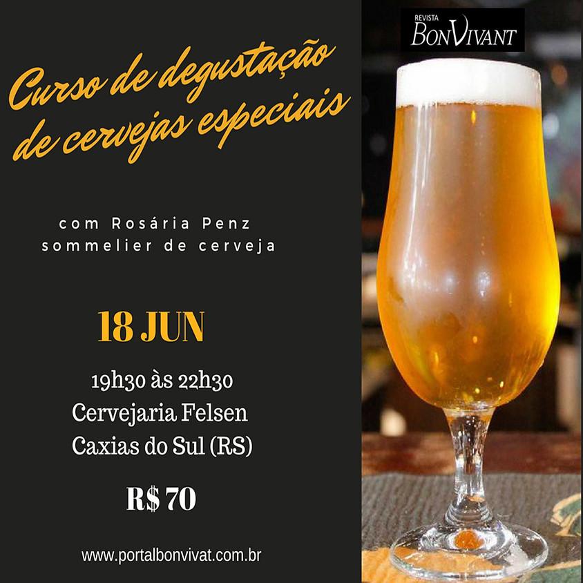 Curso de degustação de cervejas especiais