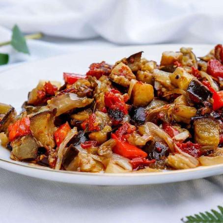 Na Cozinha com o Chef: caponata italiana de legumes