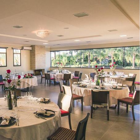 Vinícola Viapiana inaugura restaurante com vista para o jardim