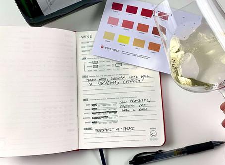 Caderneta do Vinho: anote as suas percepções