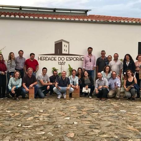 Vinícolas gaúchas buscam conhecimento em Portugal