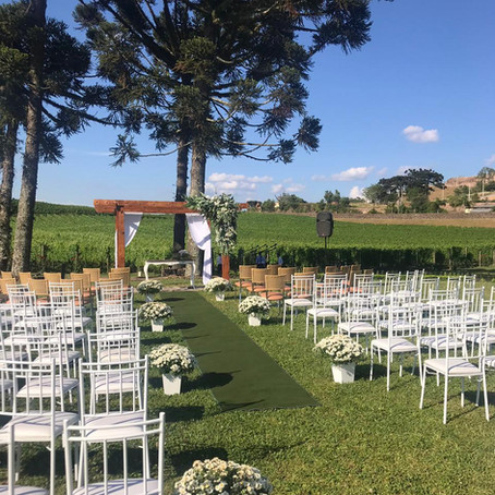 O vinhedo virou altar: 10 sugestões de vinícolas para casar na Serra Gaúcha