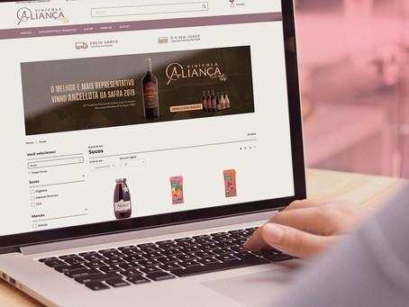Cooperativa Nova Aliança lança e-commerce