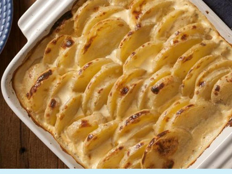 Na Cozinha com o Chef: Batatas gratinadas com queijo cremoso e crispy de bacon