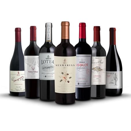 Sete Lendários safra 2018: uma seleção de vinhos nobres da Miolo