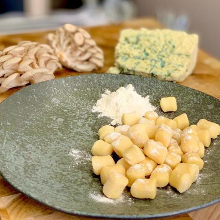 Na Cozinha com o Chef: Gnocchi de batata com molho de gorgonzola e shimeji
