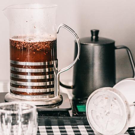 Como preparar café na Prensa Francesa