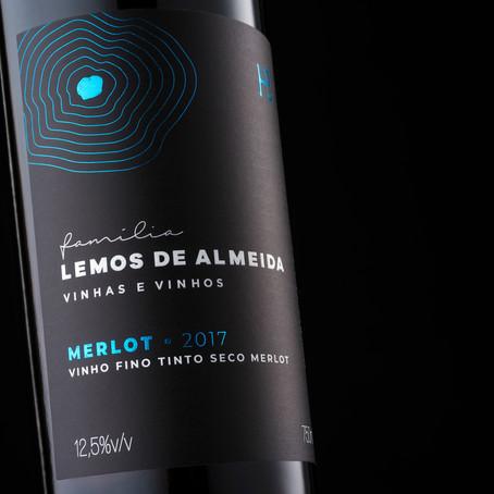 Família Lemos de Almeida lança os varietais Merlot e Pinot Noir com passagem por barricas