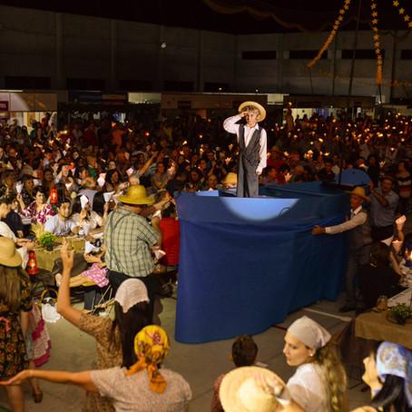 Filó encenado é a grande atração em Nova Roma do Sul, na Serra Gaúcha