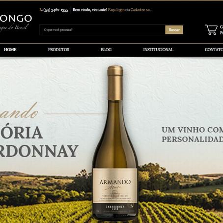 Vinícola Peterlongo lança e-commerce
