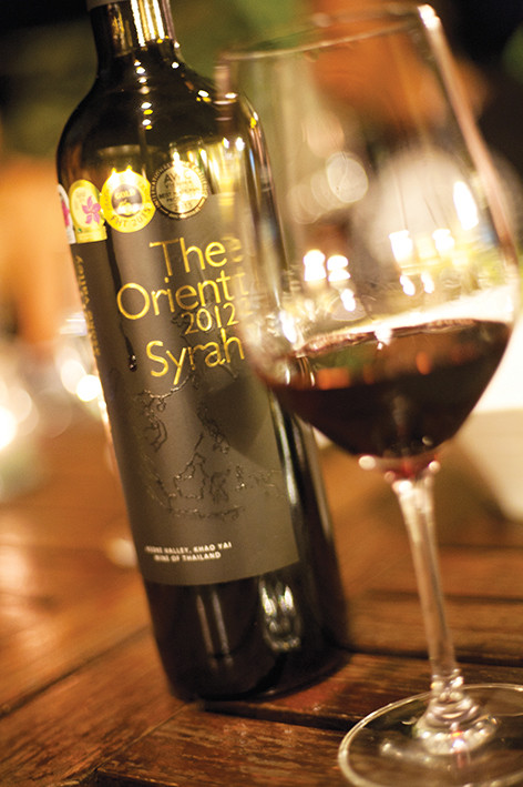 The Orient Syrah, um dos destaques da vinícola