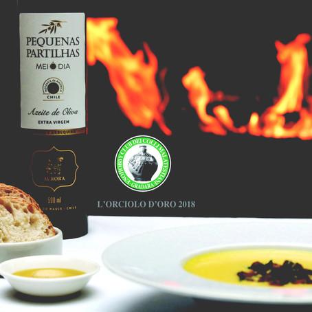 Azeite Pequenas Partilhas Meio Dia, da Vinícola Aurora, recebe menção em concurso  na Itália