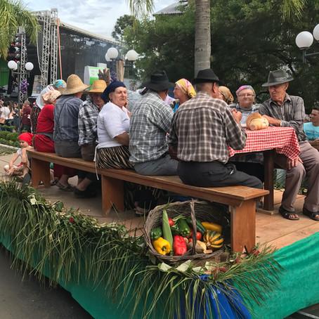 Uma festa típica em homenagem aos imigrantes italianos é atração em Nova Pádua