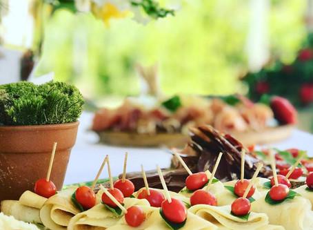 Na Cozinha com o Chef: Mini crepe Francês recheado com tomates frescos e manjericão