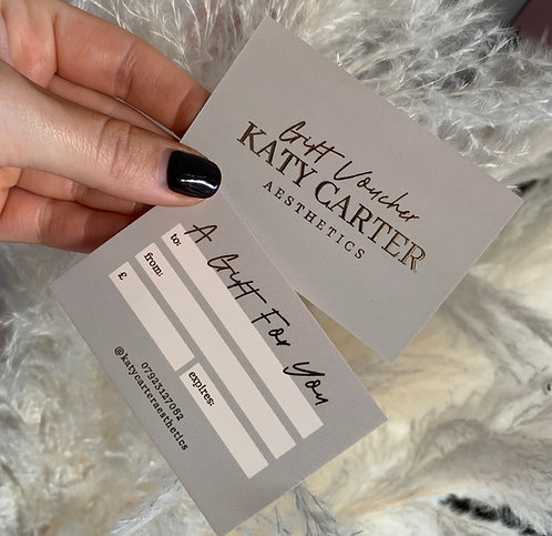 Katy Carter Gift Voucher