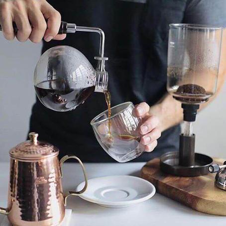 Você conhece o método 'Sifão' de fazer café?