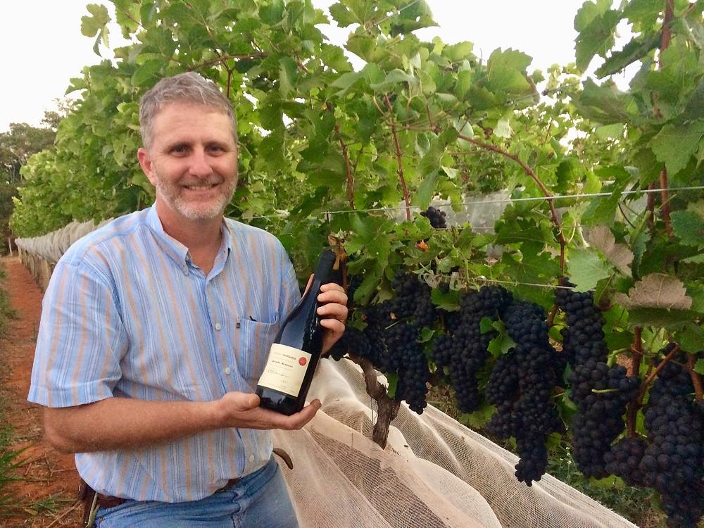 Flavio Bambini, produtor do primeiro vinho fino do Cerrado Mineiro