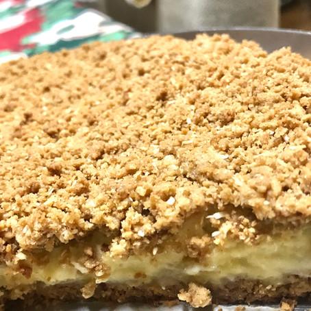 Na Cozinha com o Chef: que tal preparar uma torta cremosa de peras?