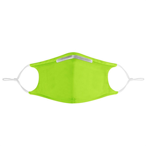 BRANGIO 'LIME GREEN' FACE MASK