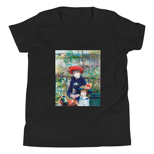 'TWO SISTERS MASKED' Kids T-Shirt