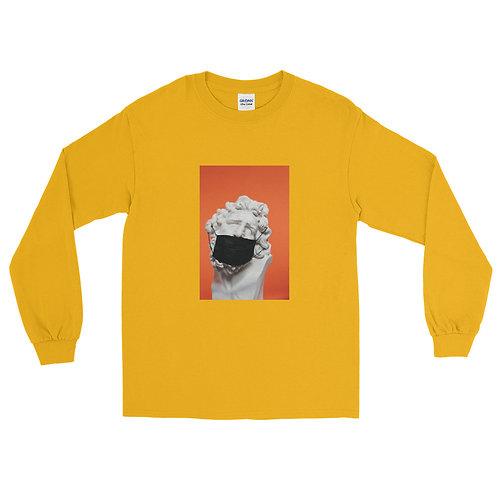 'HEAD OF DAVID MASKED' Unisex Long Sleeve Shirt