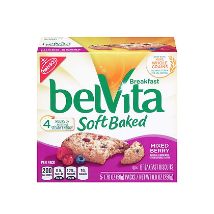 Belvita Soft Baked Mixed Berry