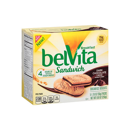 Belvita Sandwich Dark Chocolate Crème