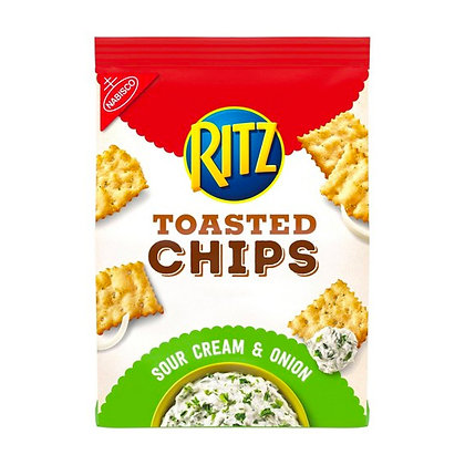 Ritz Toasted Chips Sour & Onion