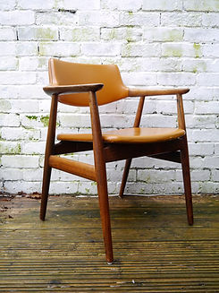 Mid Century, Danish, Furniture, Glostrup Chair