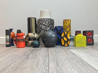 Fat Lava, west german pottery