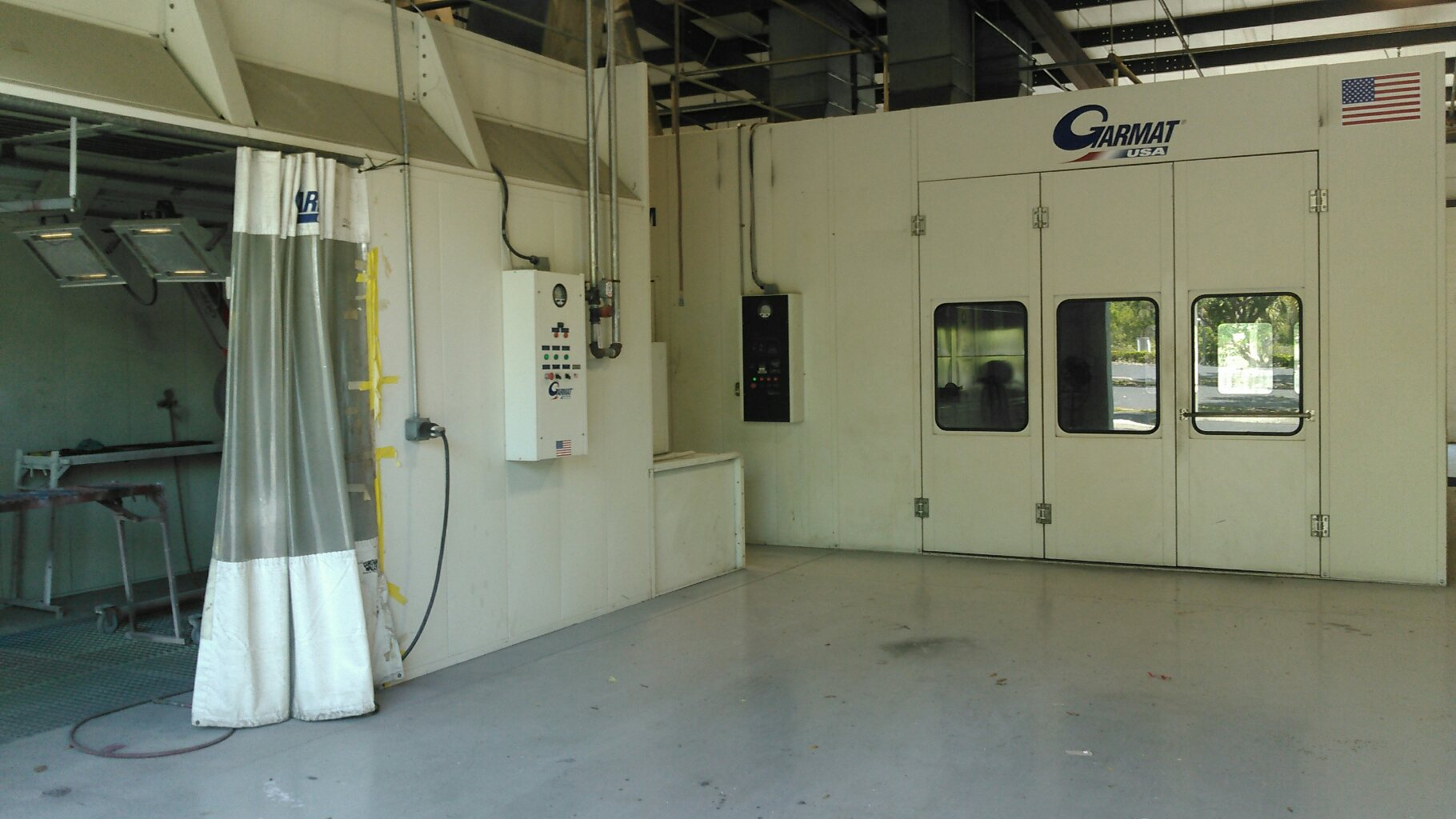 Garmat Downdraft Paint Booth