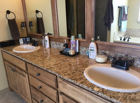 Tips on keeping up with bathroom cleaning