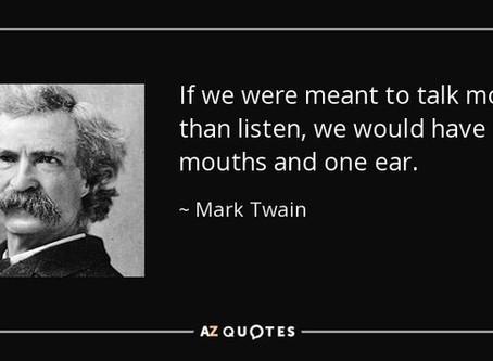 Better Storytelling starts with Better Listening