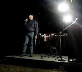 Storyteller in Texas