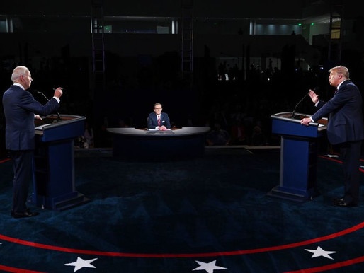 WHY YOU SHOULD WATCH THE FINAL PRESIDENTIAL DEBATE ON MUTE