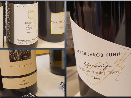 Crash Course in German Wines: Some Thoughts