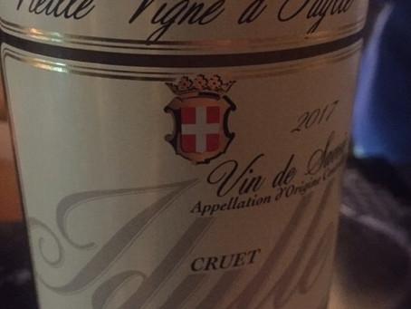2017 Domaine de l'Idylle Cruet Vielle Vignes, Vin de Savoie