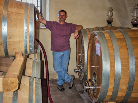 Interview with winemaker David on his European travels