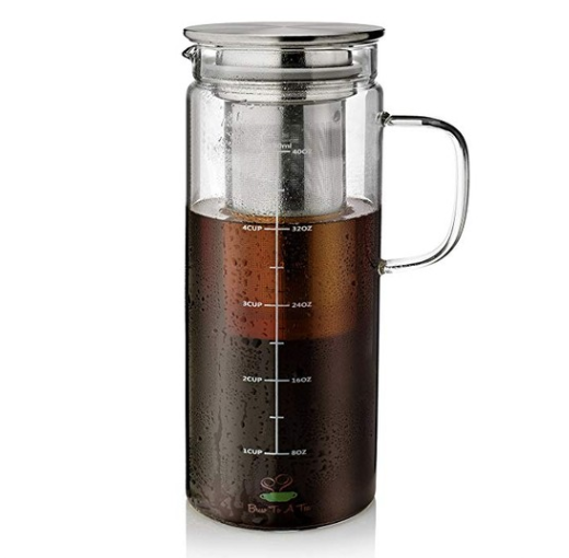 Cold Brew Coffee Maker, 1.5 Quart,48 oz Iced Coffee Maker, Iced Tea Maker