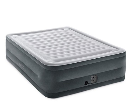 """ADD TO FAVORITES Intex Comfort Plush Elevated Dura-Beam Airbed with Internal Electric Pump, Bed Height 22"""", Queen"""