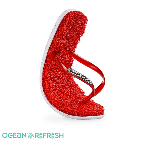 ADULTS ECO SANDAL - CORAL RED