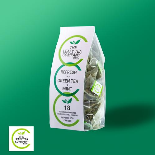 Green Tea & Mint Leaves