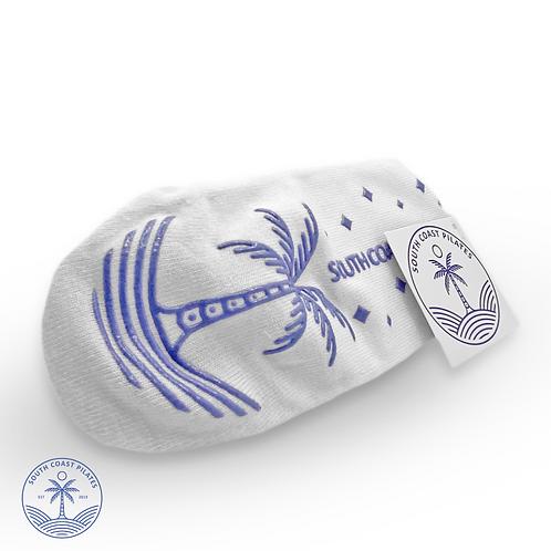Blue Palm - Grippy Socks from South Coast Pilates