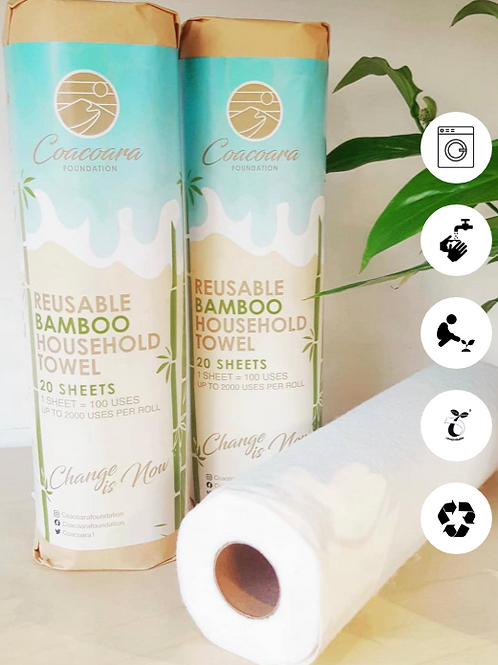 Reusable Bamboo Household Towels